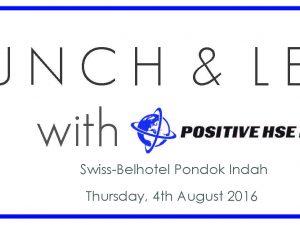 Join Us at Swiss-Belhotel Jakarta on 4 August 2016