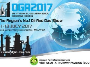 Come and meet us at Oil and Gas Asia 2017 (OGA 2017), Kuala Lumpur Convention Centre, Malaysia