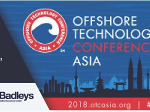 Meet us at OTC Asia 2018, Kuala Lumpur Convention Centre, Malaysia